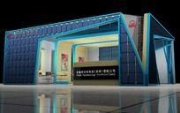 太阳能展厅设计3d模型