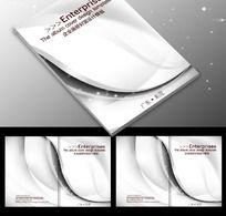 企业画册线条封面PSD