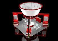 14款 3D展厅展览设计模型MAX下载
