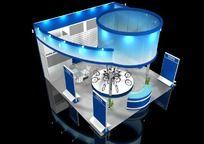 12款 3D展厅展览设计模型max下载
