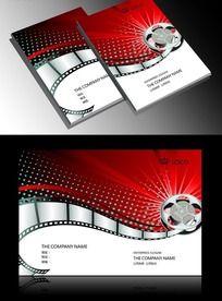 影视行业画册封面设计cdr