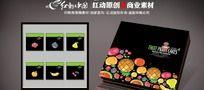 中秋水果月饼包装盒