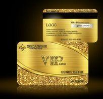 11款 金色高档VIP会员贵宾卡设计素材PSD下载