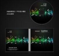 音乐影像光盘设计psd