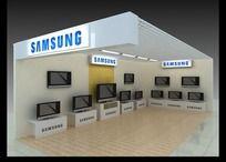电视展厅模型效果图