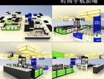 手机时尚卖场3d模型素材