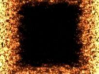 从小到大方框粒子转场视频素材