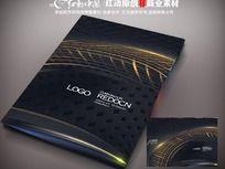 金属建材宣传画册封面设计