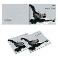 中国风广告公司封面设计