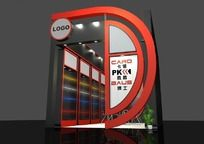 科技产品展厅max模型