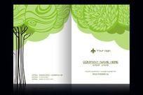 环保画册封面设计psd
