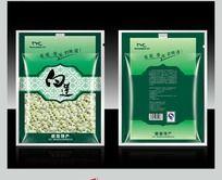 赣南特产食品 白莲包装袋设计
