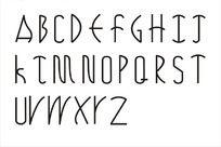 英文字体艺术字
