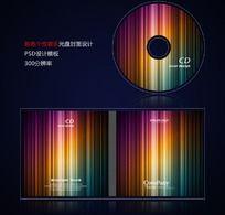 多彩音乐影音光盘封面设计psd