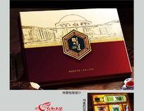 简洁高档 精美礼品盒内外包装设计CDR源文件