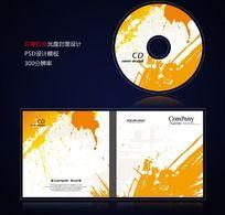印刷印染喷绘行业光盘封面设计psd PSD
