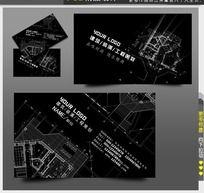 建筑装饰名片设计