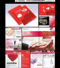 9款 婚礼宣传画册设计PSD下载