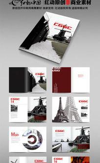 旅行社国外旅游风景宣传画册