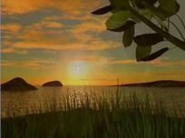日升景色视频素材