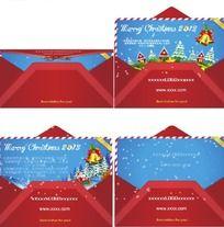 flash企业圣诞贺卡信封版
