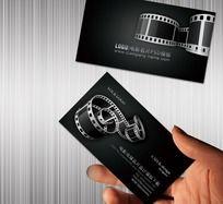 电影传媒广告名片