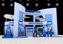 电子展厅3d模型