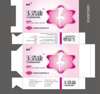 妇科药品包装盒设计