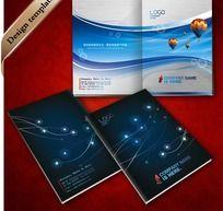动感曲线科技封面