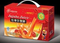 红枣汁饮料新年礼盒