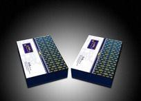 昆仑雪菊茶包装盒设计