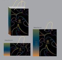时尚炫彩纸袋设计