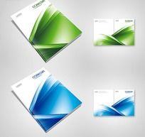 科技画册封面设计02 PSD源文件