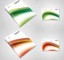 时尚科技画册封面设计PSD源文件