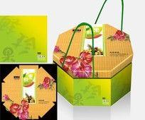 水果包装设计平面展开图