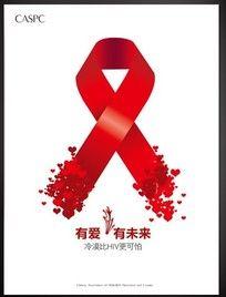 艾滋病海报 PSD