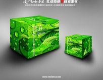 绿色茶叶包装盒