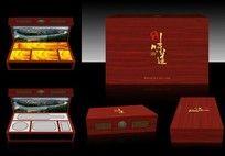 高端木盒礼品包装设计