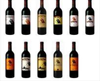 葡萄酒酒标设计 CDR