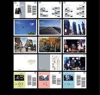 欧洲旅游画册
