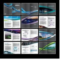 现代时尚科技企业画册