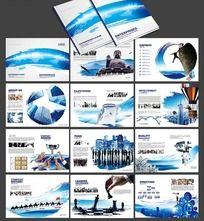 中国风企业画册设计psd素材