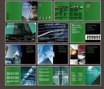 建筑企业画册图片