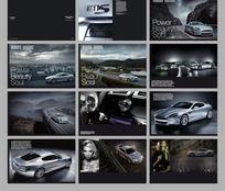 现代汽车时尚杂志画册