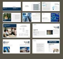 投资管理公司画册