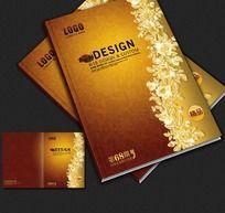 10款 精美欧式花边画册封面设计PSD下载