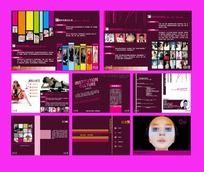 化妆美容机构画册