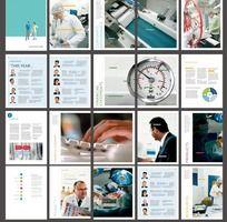 现代医疗时尚画册