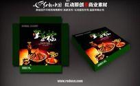 端午节粽子礼盒包装图片
