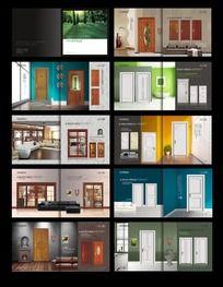 实木门,烤漆门画册设计